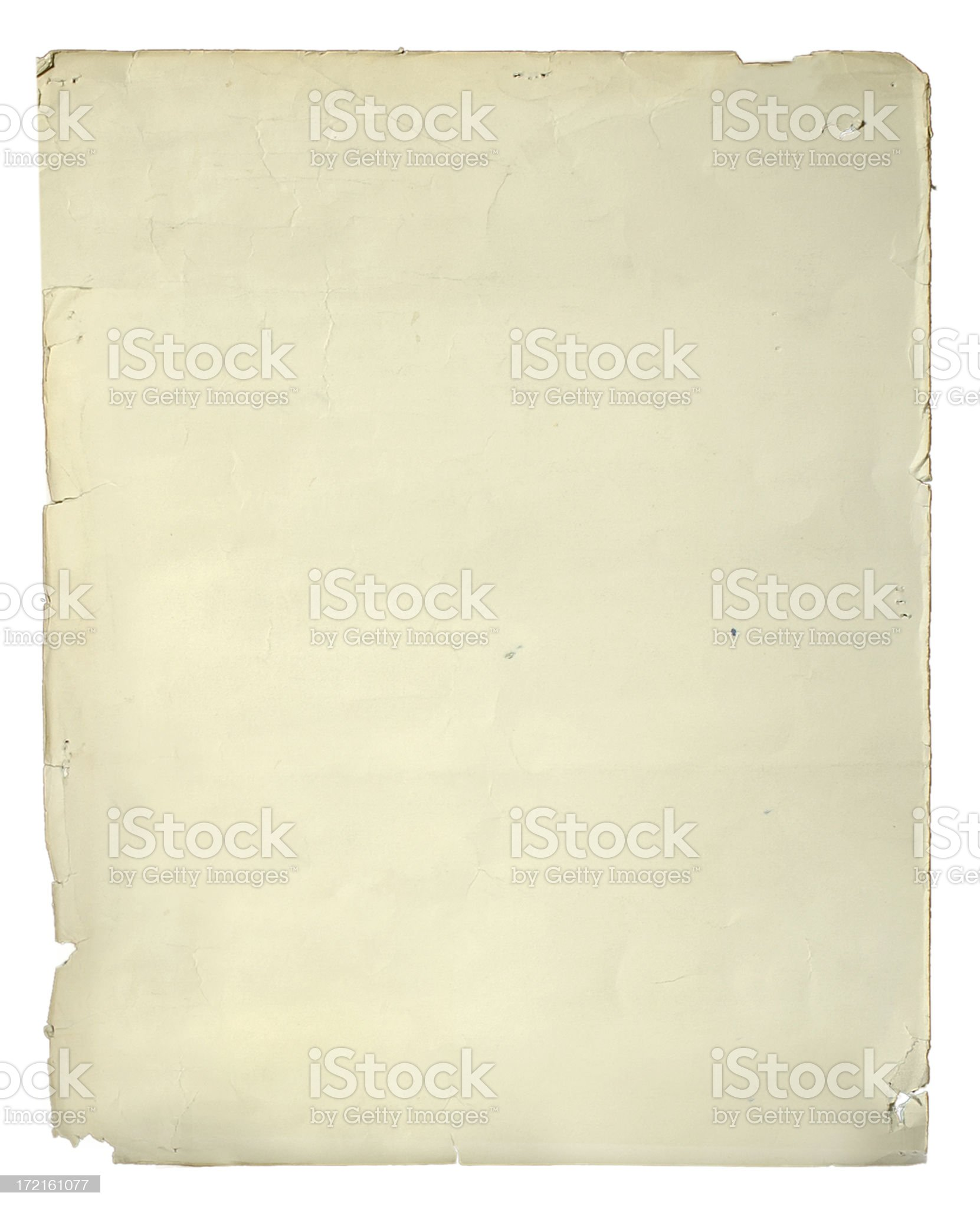 old poster paper royalty-free stock photo