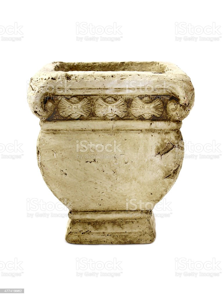 Old pot stock photo