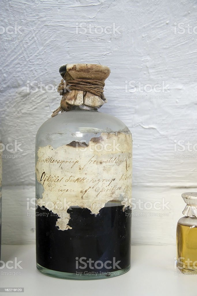 Old potion royalty-free stock photo