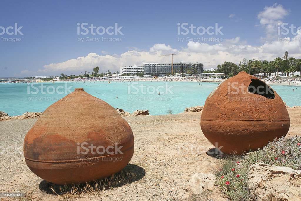 Old pots royalty-free stock photo