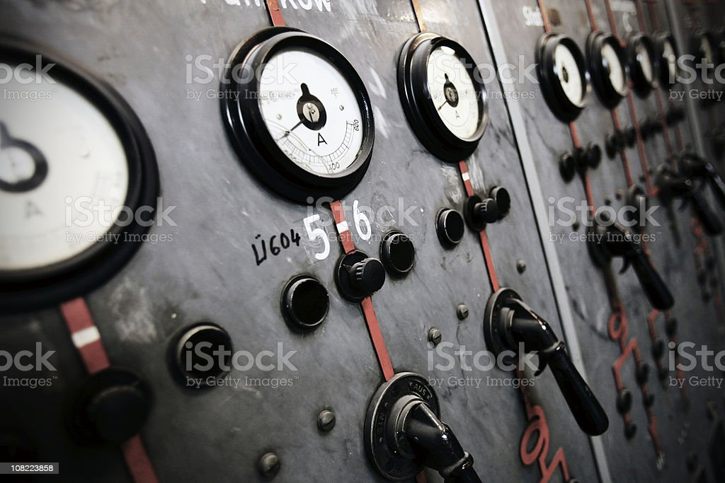 old power plant royalty-free stock photo