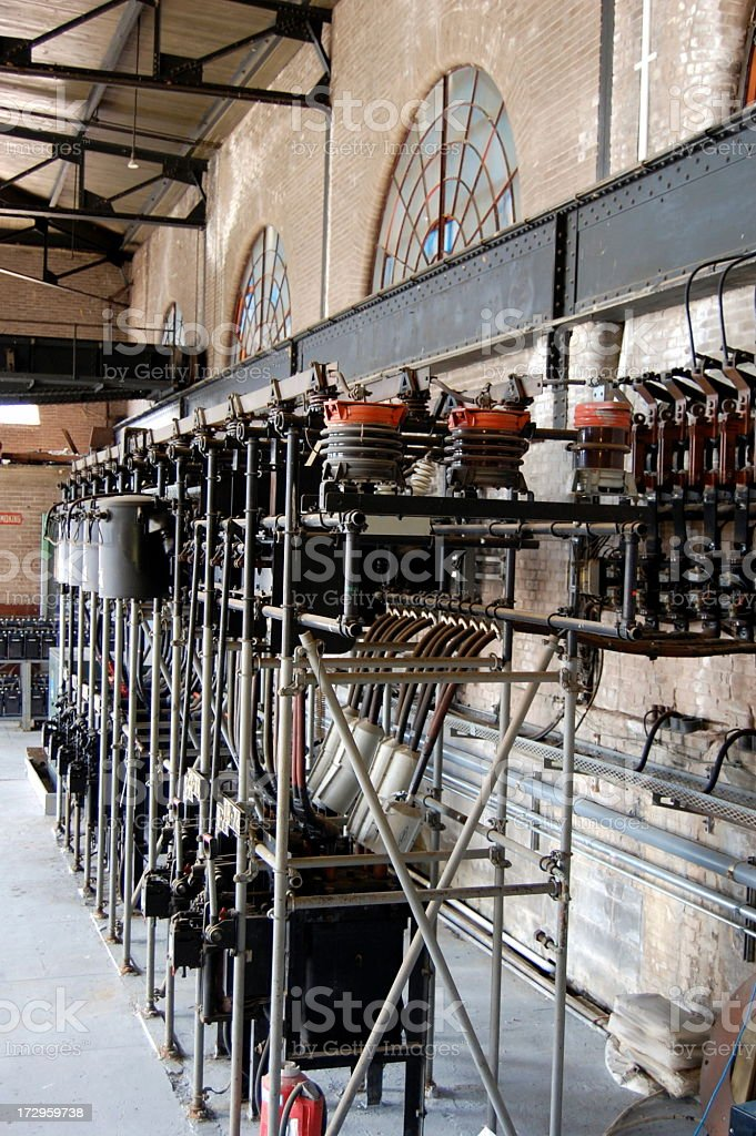 Old Power Station royalty-free stock photo