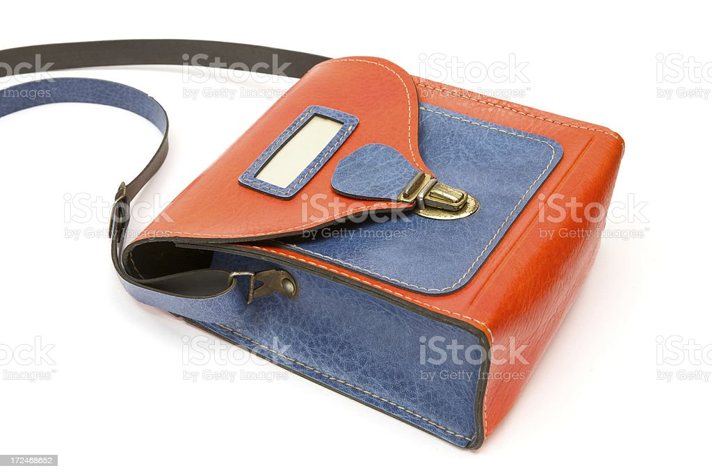 Old Preschool Book Bag royalty-free stock photo