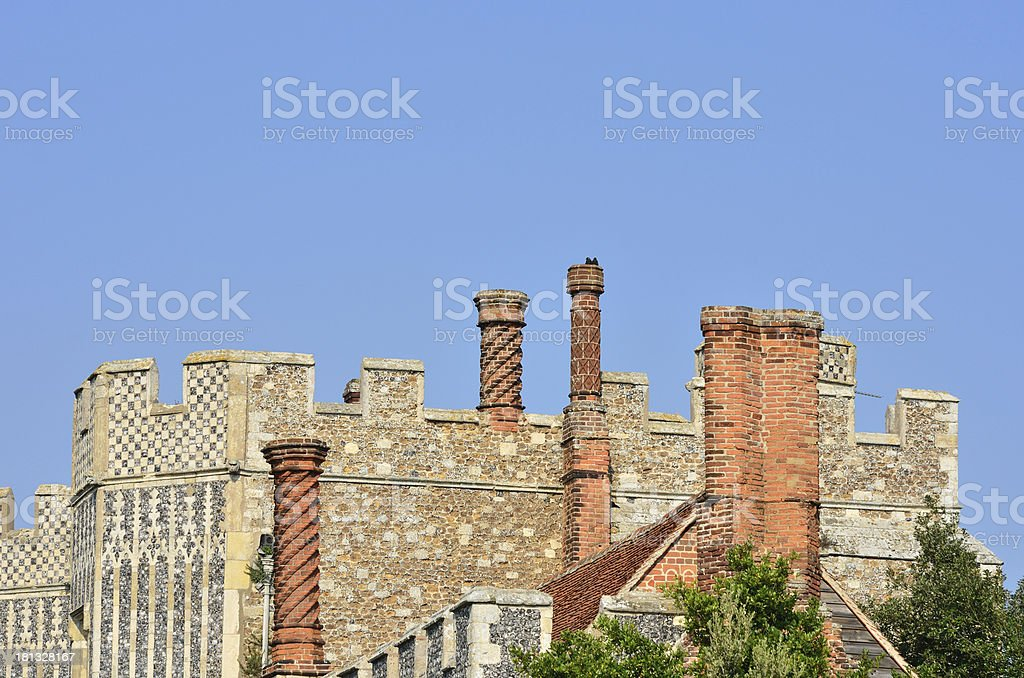 Old priory royalty-free stock photo
