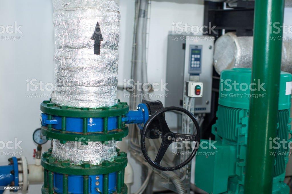 old production machine. manufactory stock photo