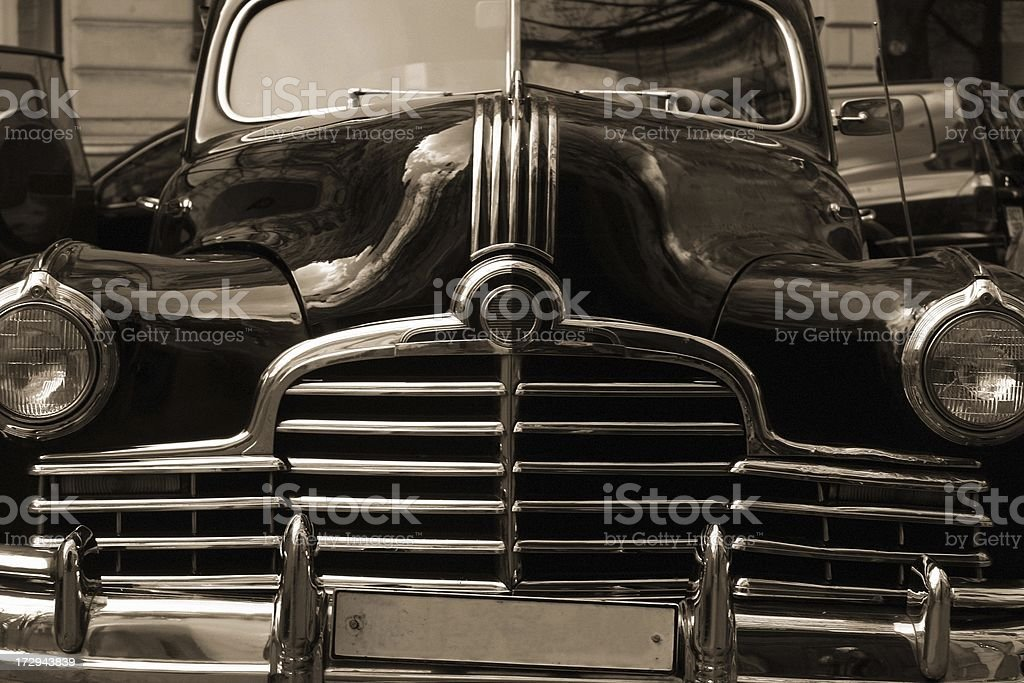 Old proud Lady - Vintage car I royalty-free stock photo