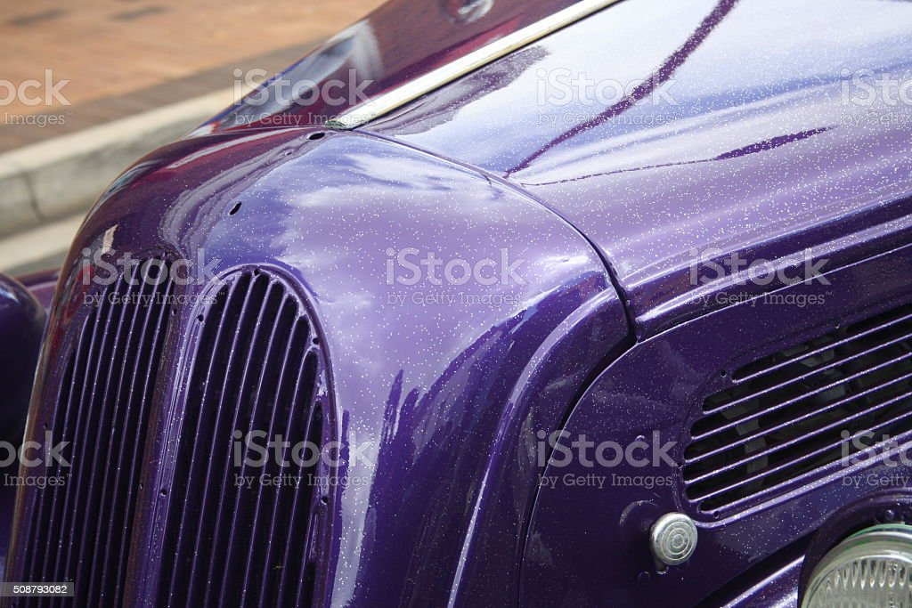 Old purple stock photo