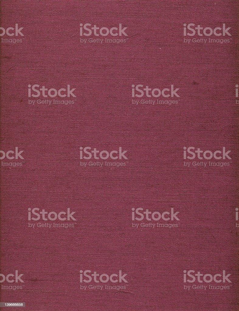 Vieux texture de tissu pourpre livre photo libre de droits