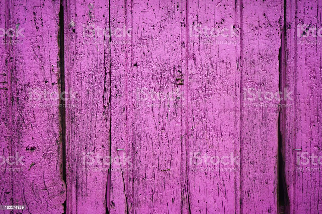 Old purple wooden plank royalty-free stock photo