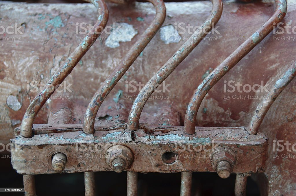 Old Race Engine royalty-free stock photo