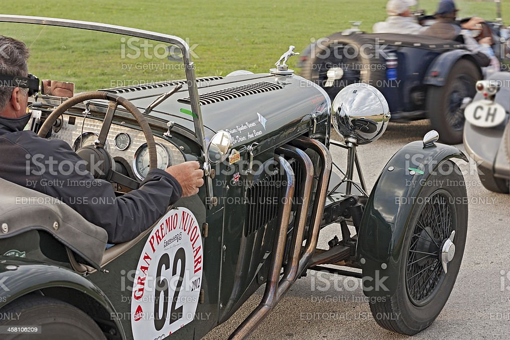 old racing car royalty-free stock photo