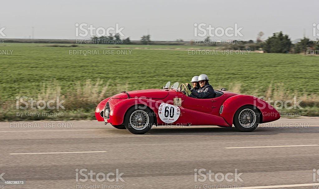 old racing car stock photo