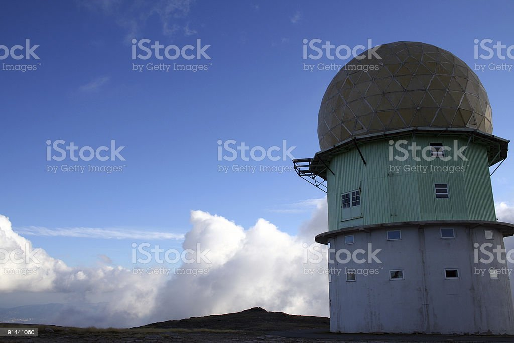 Old Radar 2 royalty-free stock photo