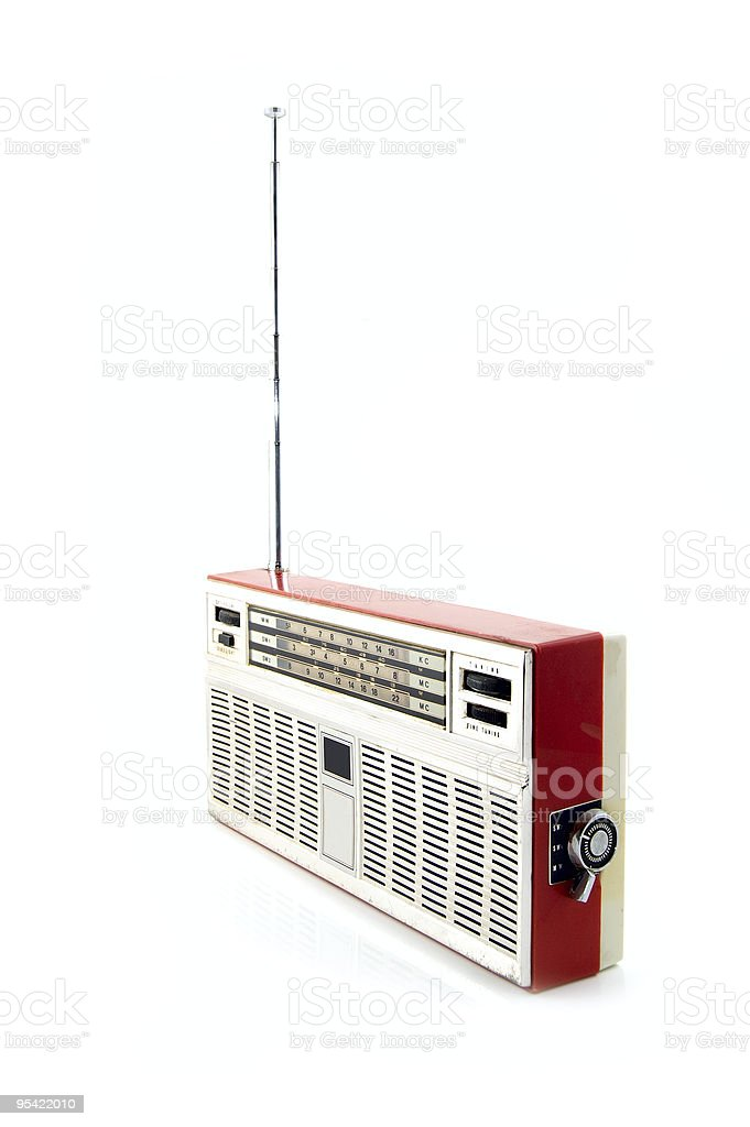 old radio royalty-free stock photo