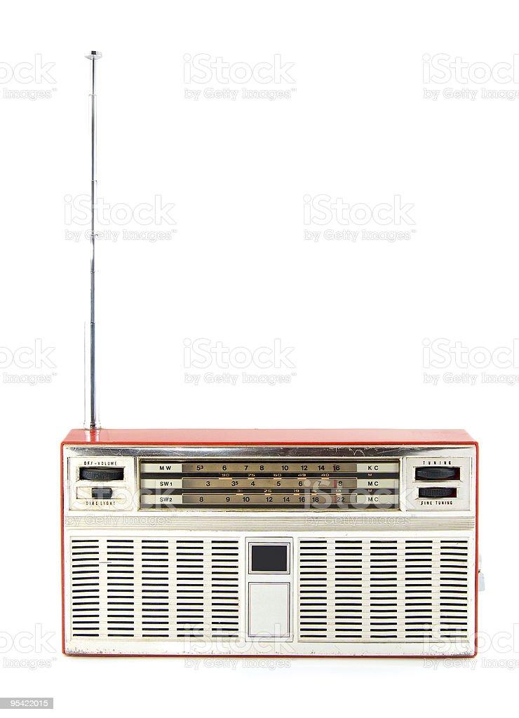 old radio royalty-free stock photo