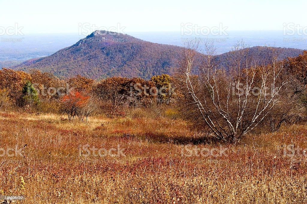 Old Rag Mountain royalty-free stock photo