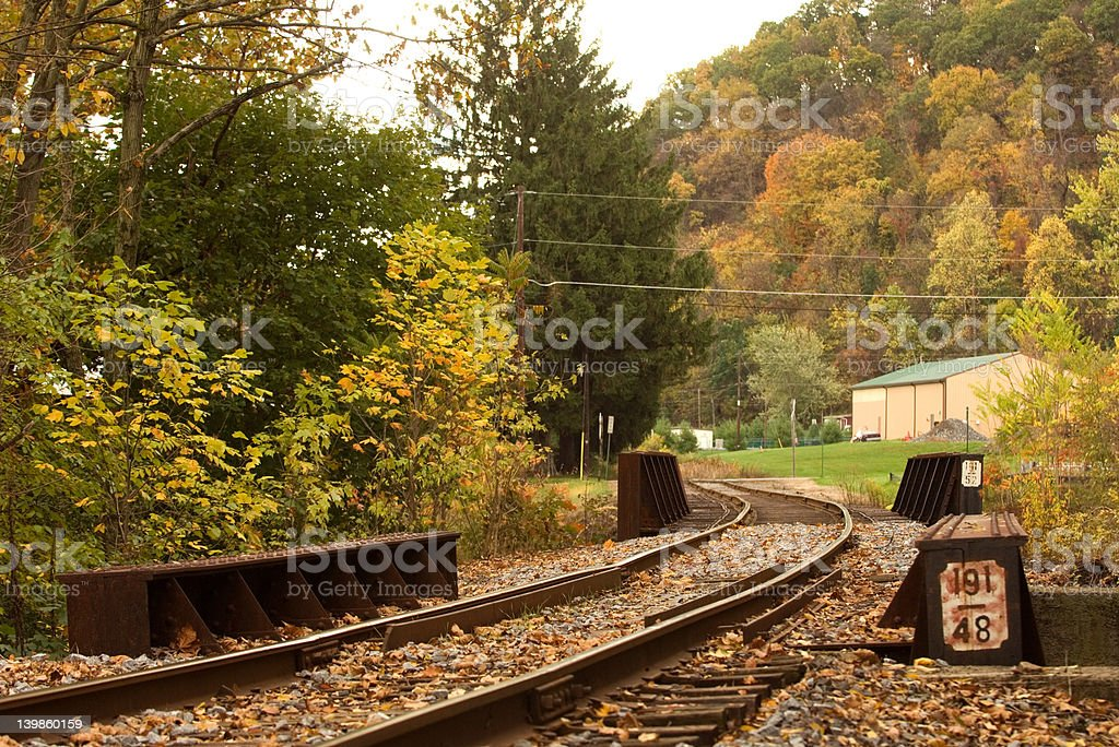 Old rail road. Pennsylvania.  1 stock photo
