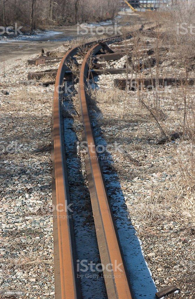 Old Railroad/de trem foto royalty-free
