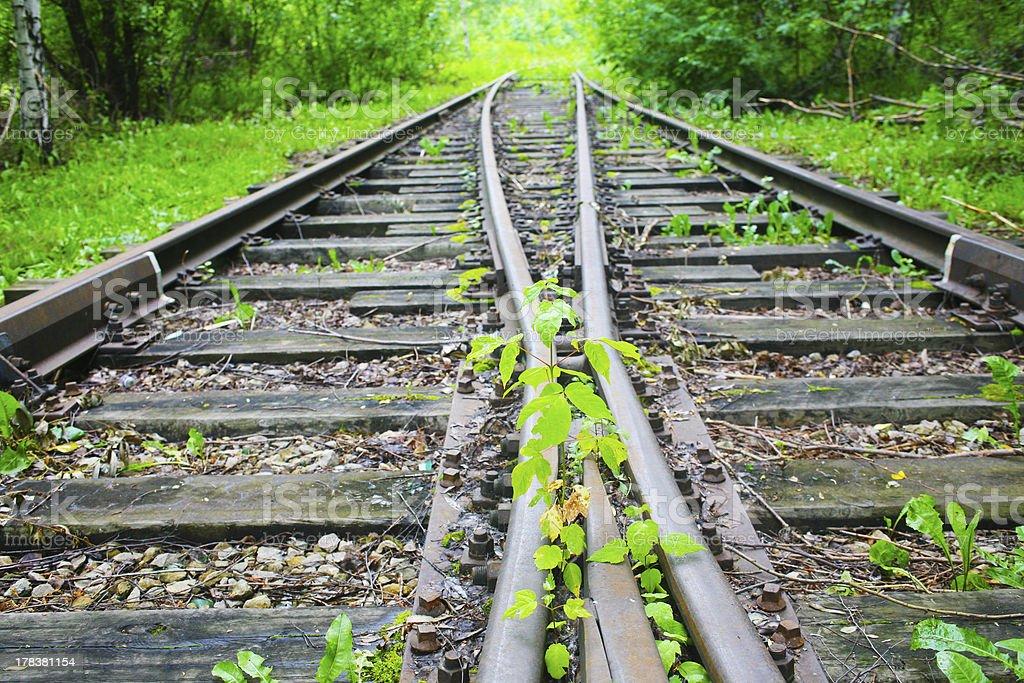old railway stock photo