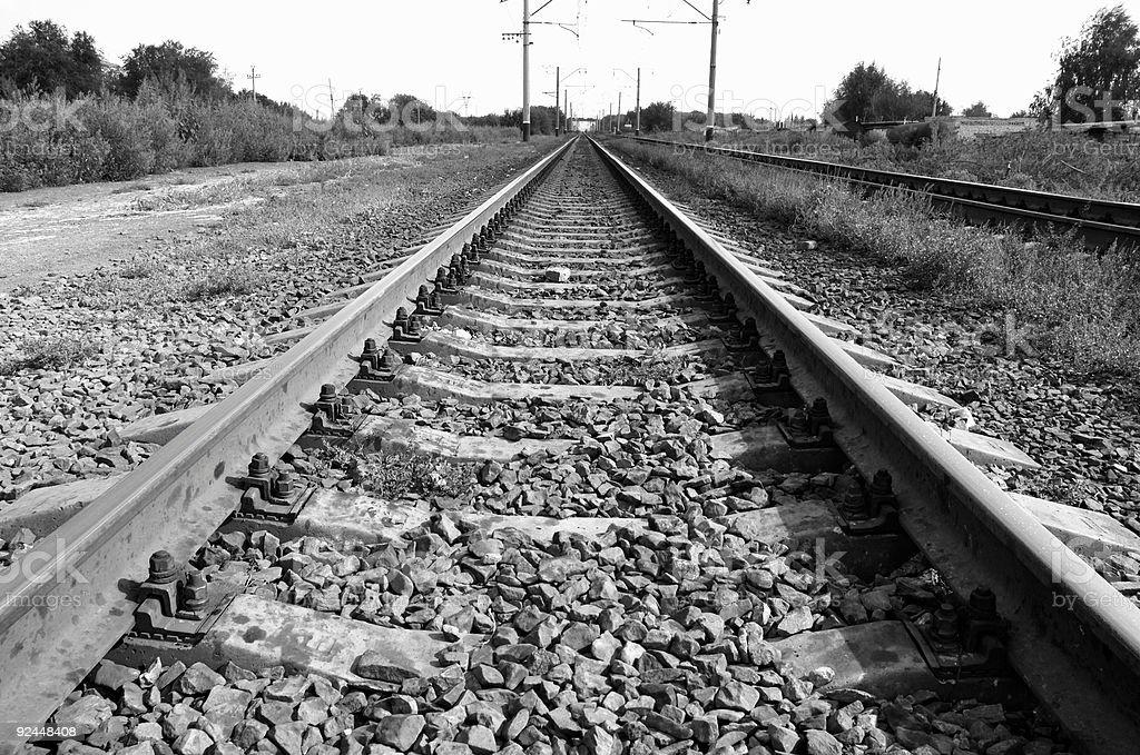 old railway royalty-free stock photo