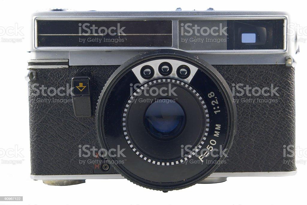 old range-finder stock photo