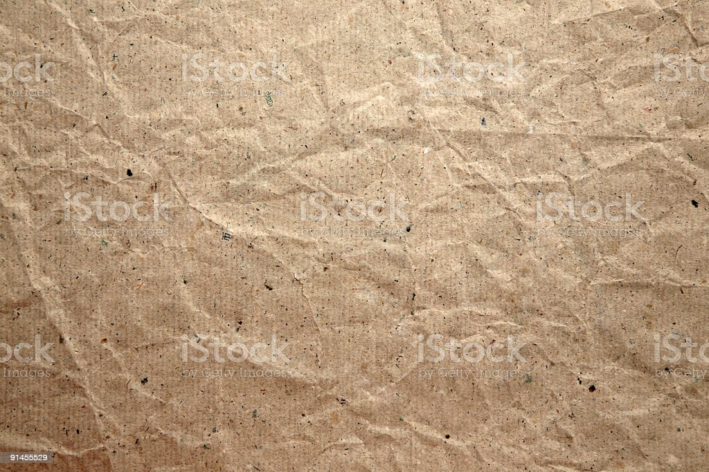 Old recycled paper. royalty-free stock photo
