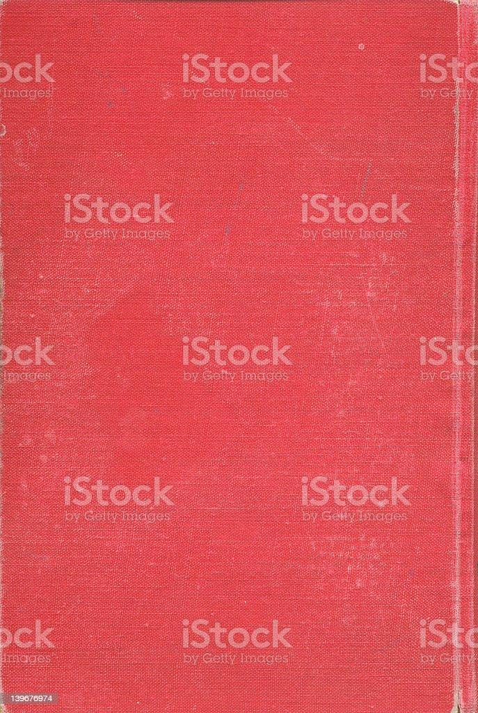 Vieille Couverture de livre rouge abstrait photo libre de droits