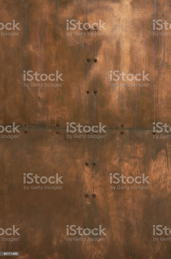 old red brass royalty-free stock photo
