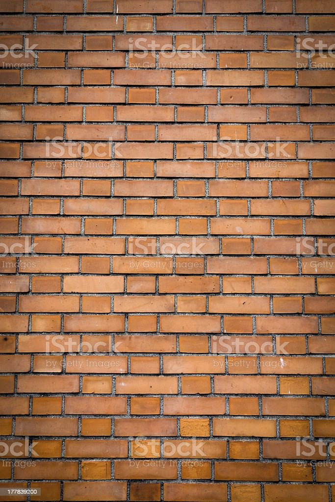 Old red brick wall royalty-free stock photo