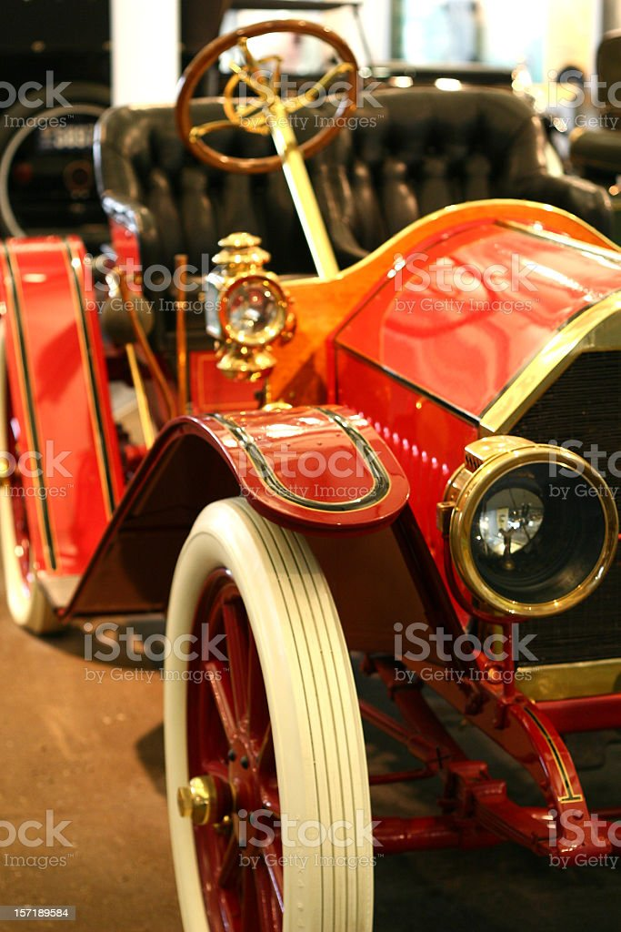 old red car royalty-free stock photo