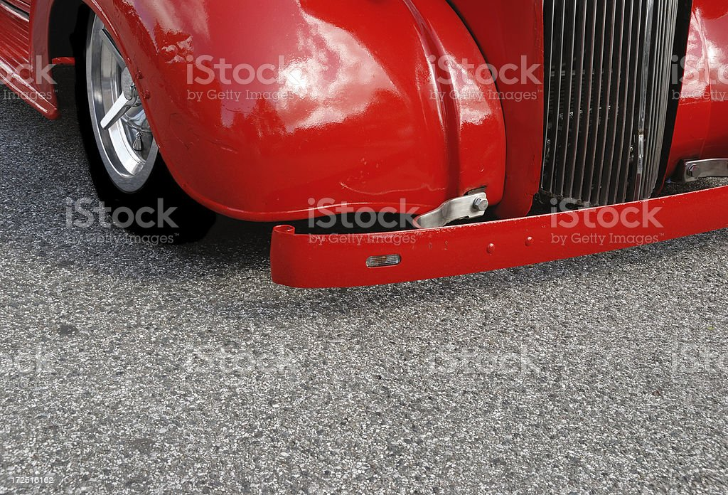 old red hot rod royalty-free stock photo