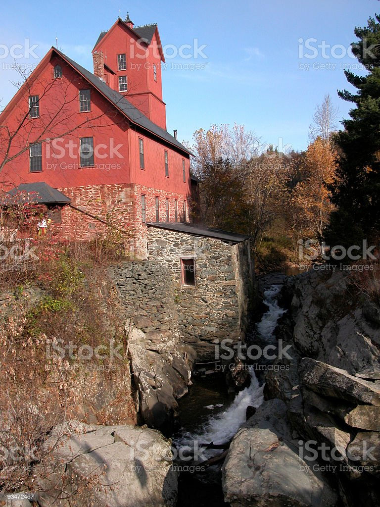 Old Red Mill royalty-free stock photo