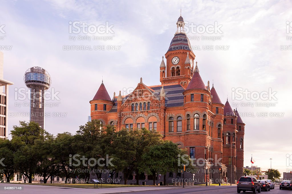 Old Red Museum of Dallas County stock photo