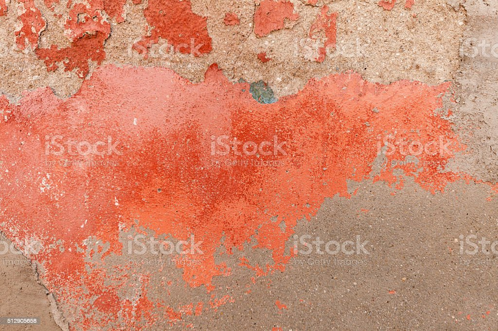 Old Red Wall stock photo