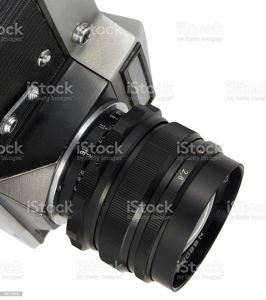 old reflex camera royalty-free stock photo
