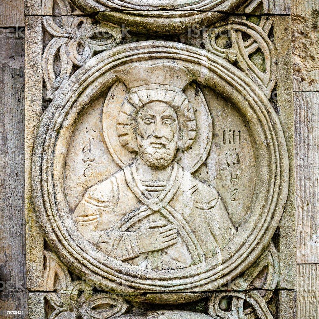 old religious christian orthodox stone icons stock photo 479768424