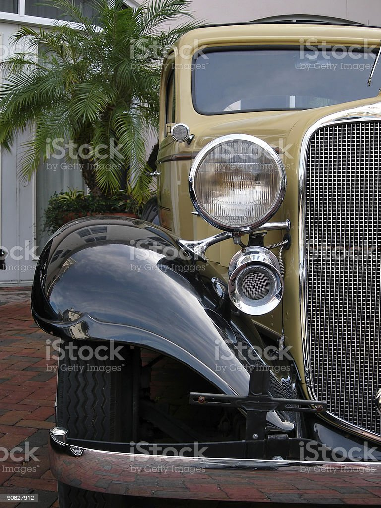 Old Restored Car royalty-free stock photo