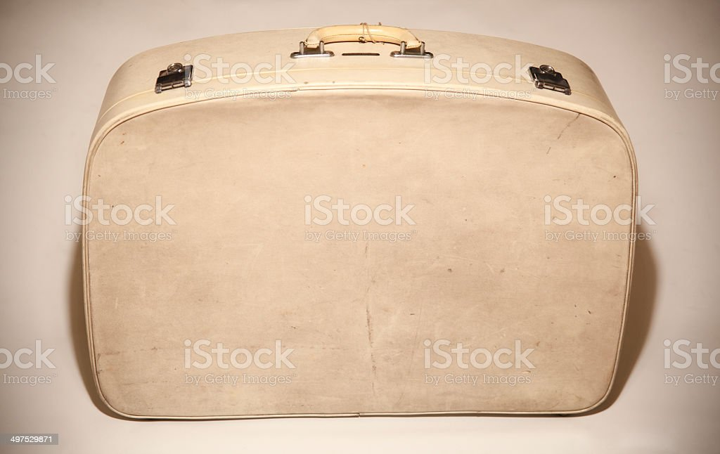 Vecchia valigia retrò foto stock royalty-free