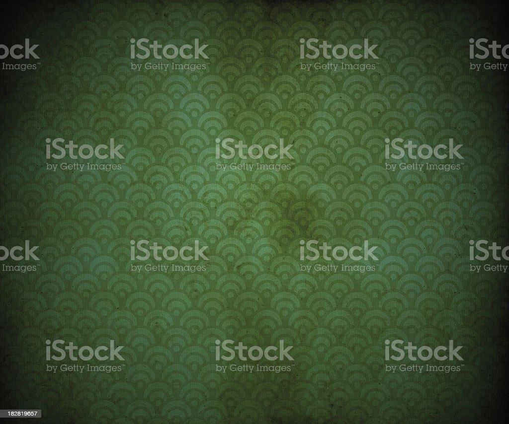 Old Retro Wallpaper royalty-free stock photo
