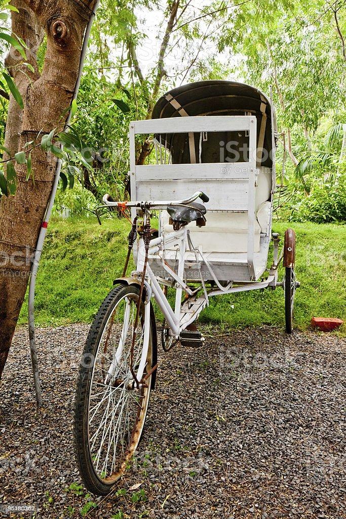 Old Rickshaw royalty-free stock photo