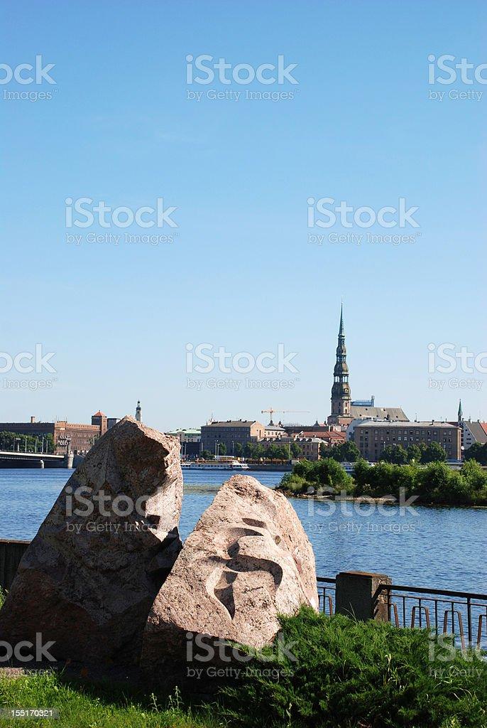 Old Riga, Latvia royalty-free stock photo