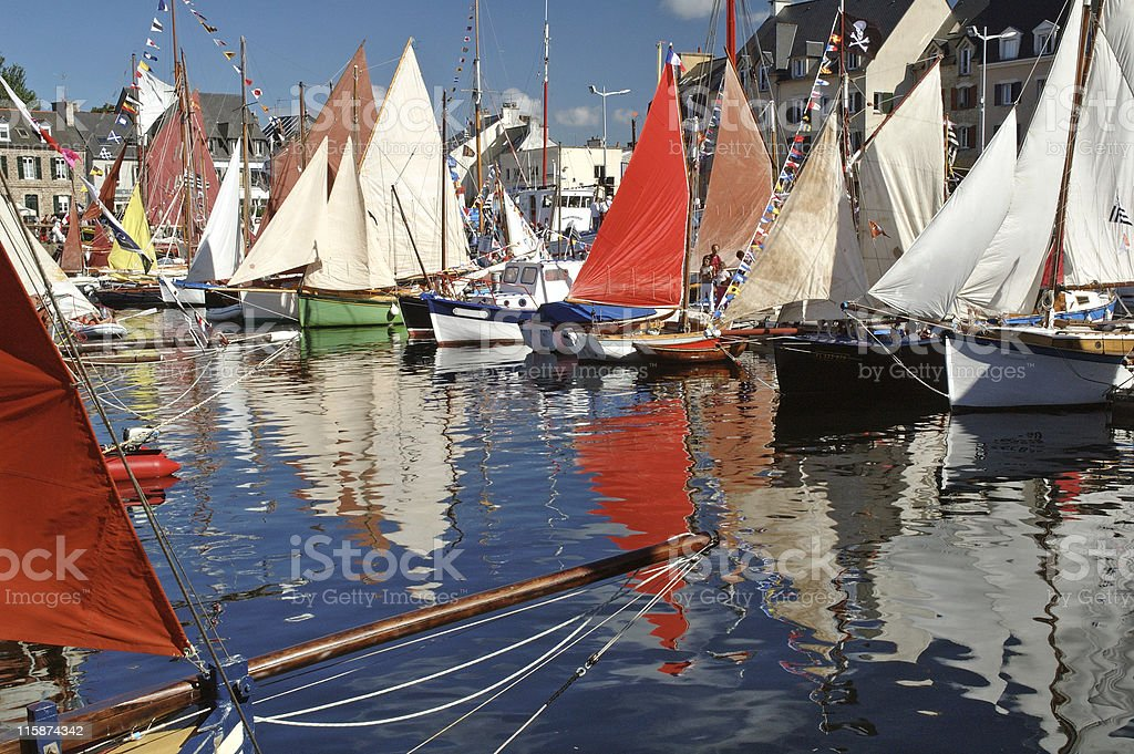 old riggings boat royalty-free stock photo