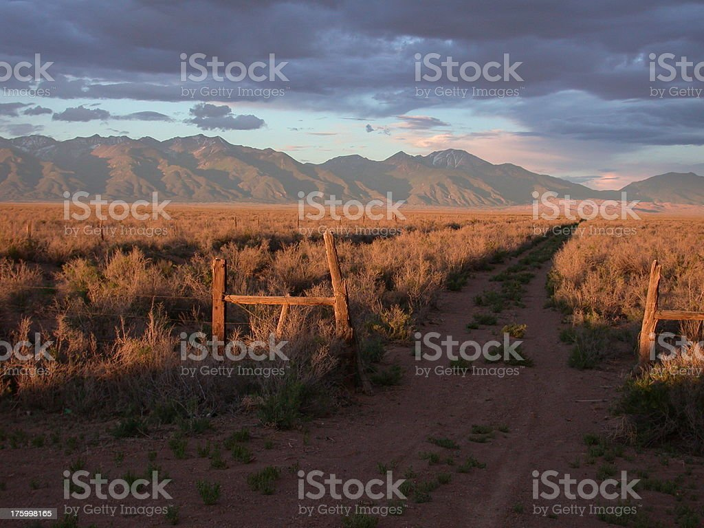 Old Road royalty-free stock photo