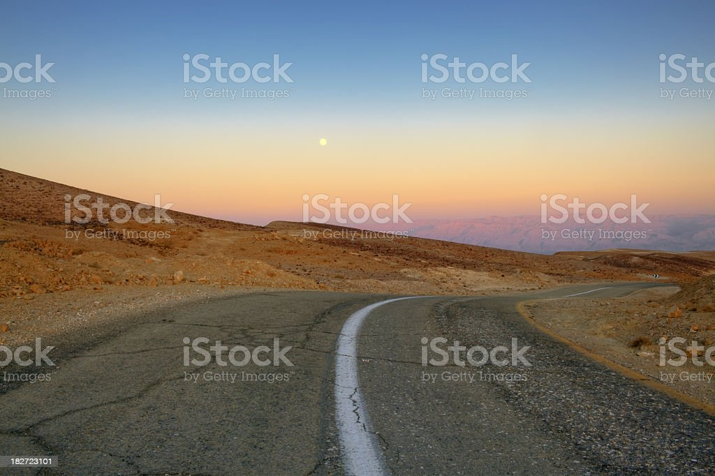 Old Road. stock photo
