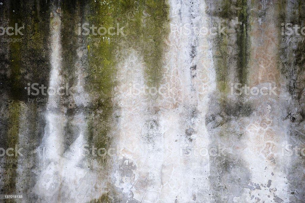 Old roman wall royalty-free stock photo