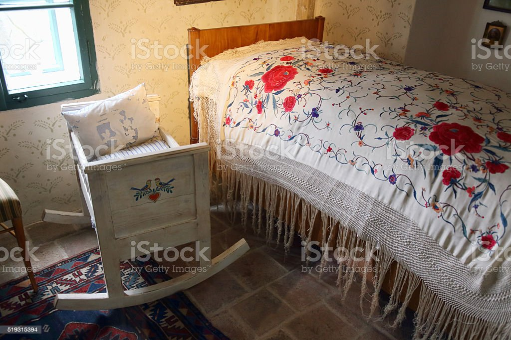 Old room stock photo