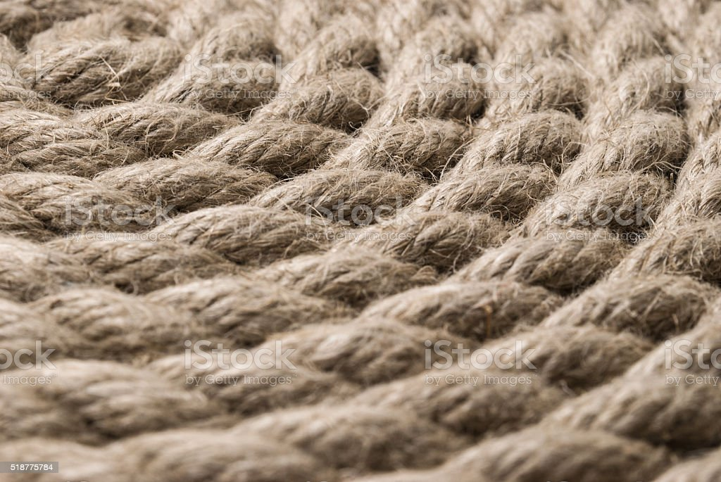 Old rope background stock photo