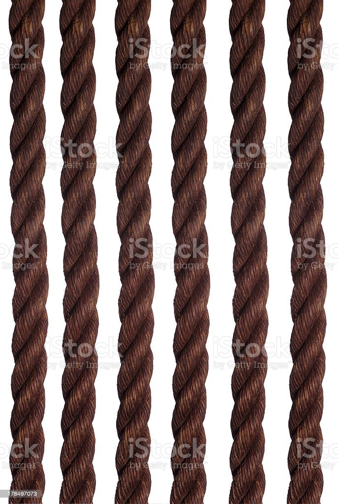 old ropes royalty-free stock photo