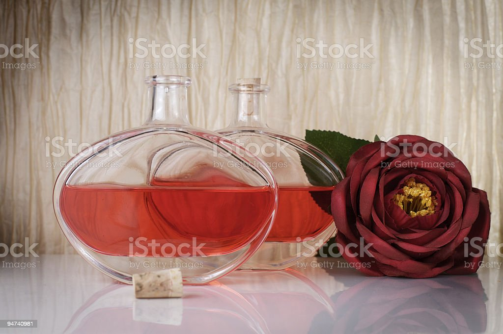 Old roses fragrance royalty-free stock photo