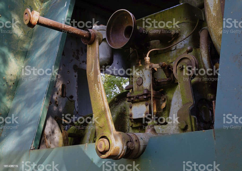 old rosted machine royalty-free stock photo